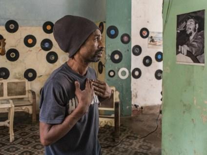 Havana, Cuba 2015. Book 'Cuba, La Lucha'.