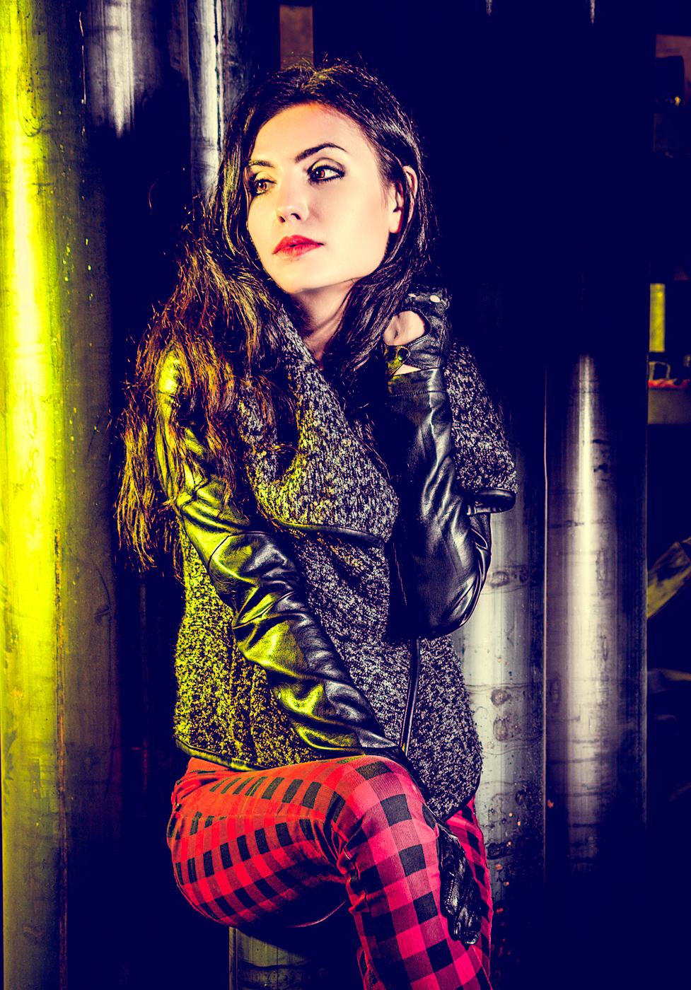 Ania - sesja zdjęciowa z fotomodelką