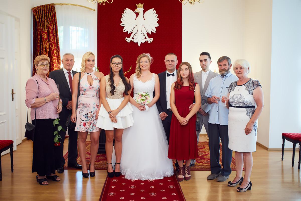Marta i Andrzej - Fotograf ślubny Kudowa Zdrój