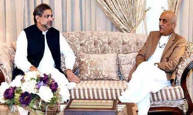 وزیر اعظم کی قائد حزب اختلاف سے ملاقات