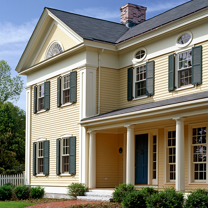 Greek Revival - Jan Gleysteen Architects, Inc.