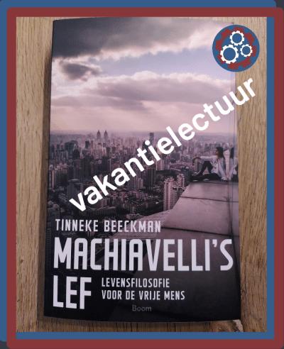Machiavall's lef - schutblad