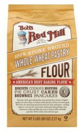 Bag of Bob's Red Mill Whole Wheat Pastry Flour