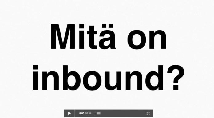 MItä on inbound- markkinointi?