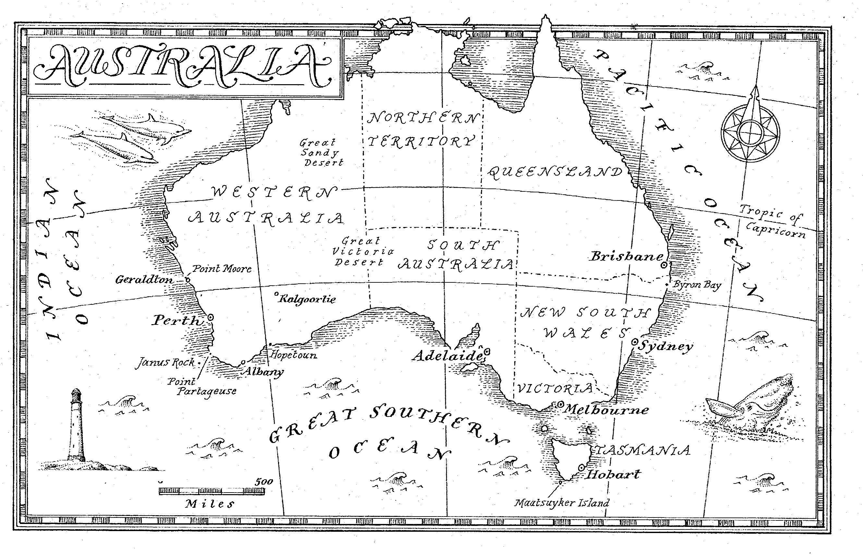 Partageuse Australia Map Afp Cv