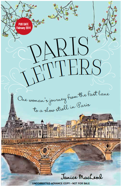 Paris Letter Front Cover Advance Copy