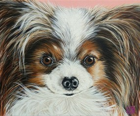 Nina 11x14 canvas