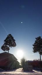 Sol och snö över mitt förortsliv