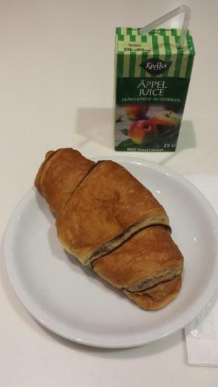 Croissant&äppeljuice