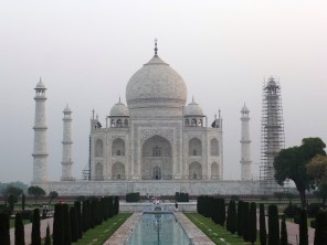 Taj Mahal in the dawn light