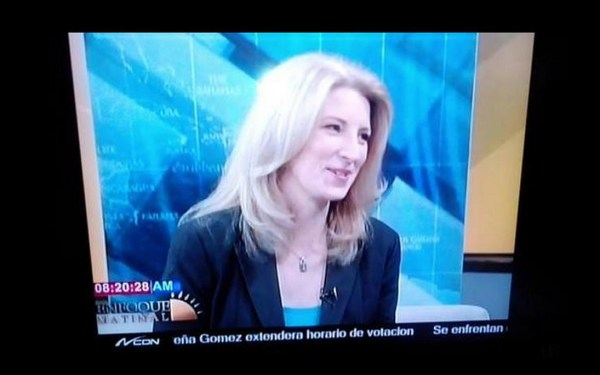 Janine Warner on TV