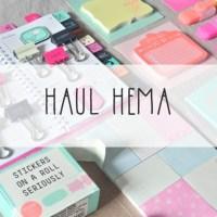 Haul HEMA : mes fournitures de bureau (bonus NOZ inside)