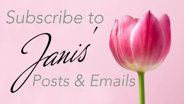 Subscribe to Janis Van Keuren's emails