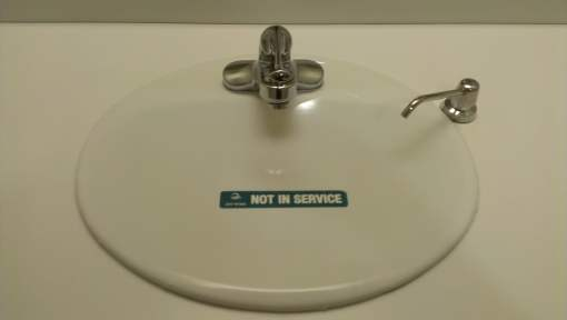JaniWrap Out of Order Sink Cover