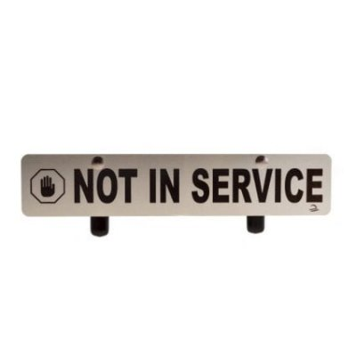 JaniWrap Not In Service Sign