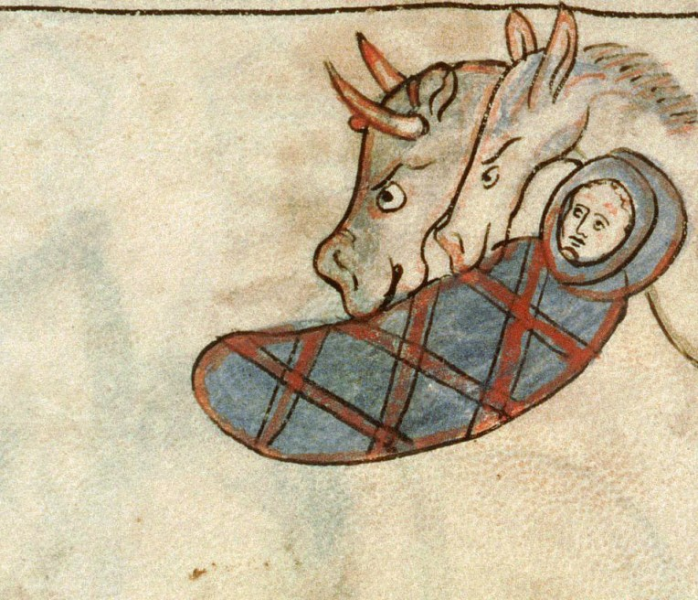Amiens BM MS.108 Navarre Picture Bible, 007r, 1197