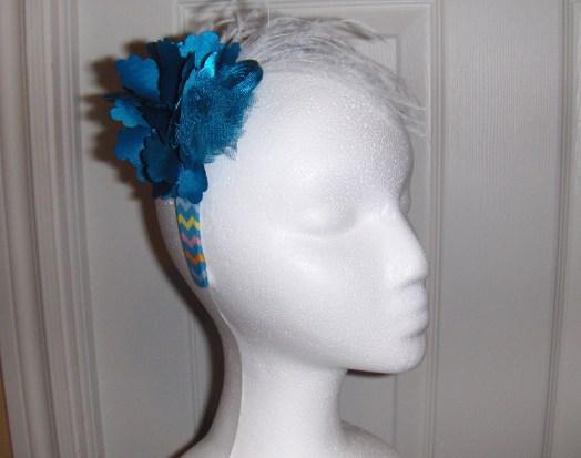 Blue Silver Headband $15.00 H