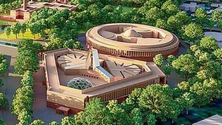 नए संसद भवन के निर्माण कार्य की चर्चा काफी दिनों से चली आ रही थी