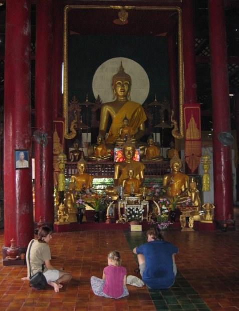 Najlepsze miejsce na wykład z buddyzmu.