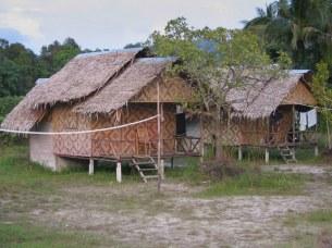 "Krabi - nasze bambusowe chatki w ""Laughing Gecko""."
