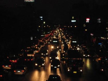 BKK by night.