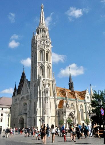Kościół św. Macieja na Wzgórzu Zamkowym.