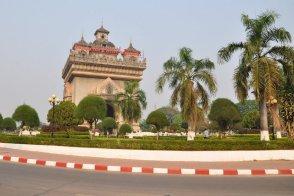 Vientiane, od 1975 roku stolica Laosu.