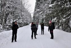 Pochmurny dzień, ciężkie chmury i ciężkie miny. Świeży śnieg, zagrożenie lawinowe 3-go stopnia. Forecast uparcie pokazuje słońce w Tatrach!