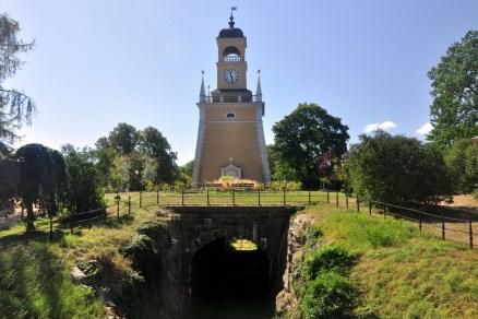 Amiralitetsklockstapeln – dzwonnica z 1699 r, zaprojektowana na wzór antycznej Latarni Aleksandryjskiej (jednego z siedmiu cudów świata).