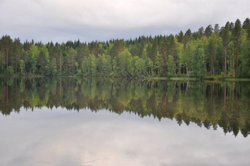 """Finlandia - """"kraina tysięcy jezior""""."""