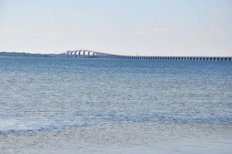 To tylko jakaś 1/5 mostu ;)