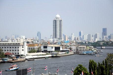 BKK i rzeka Chao Praya.