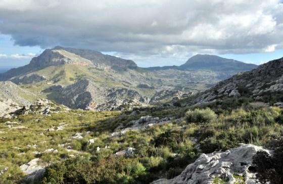 Na przełęczy Coll dels Reis (682 m).