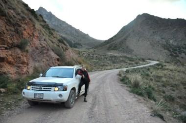 Z tej przełęczy zjechała nasza najmłodsza kierownica ;)