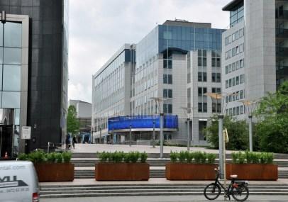 Budynki Parlamentu Europejskiego.