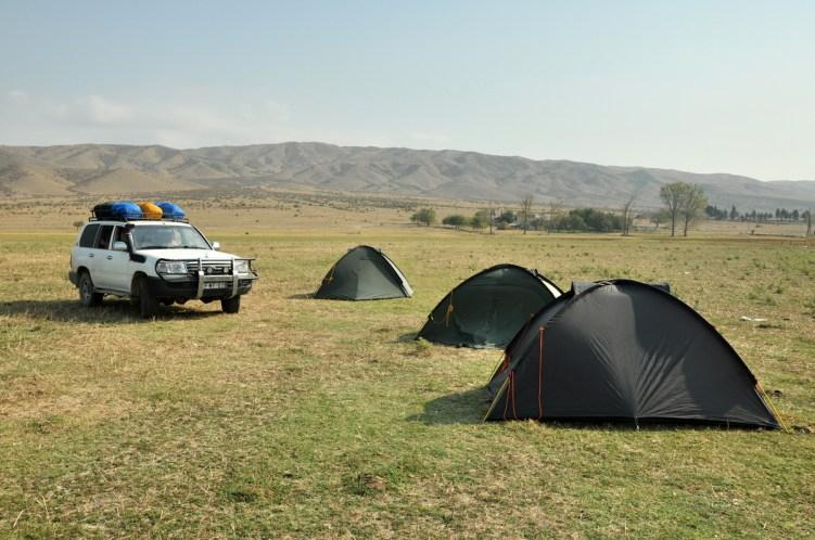 Pod granicą z Azerbejdżanem. Jakieś 20 km od Dawid Garedży.