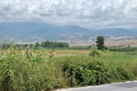 Kolejne z serii: zdjęcie z drogi. Macedonia Piryńska.