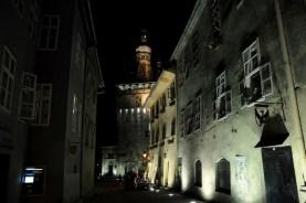 Szigiszoara by night.
