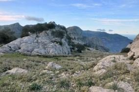 Przełęcz Coll de l'Ofre (875 m).