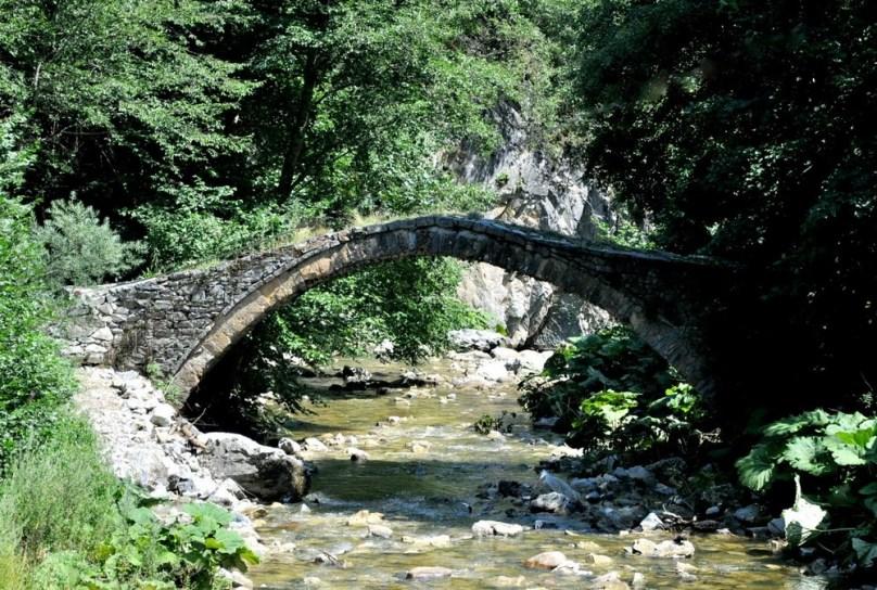 Podobno klasyczny rodopski most.