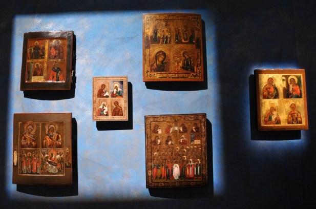 Muzeum ikon przy monastyrze.