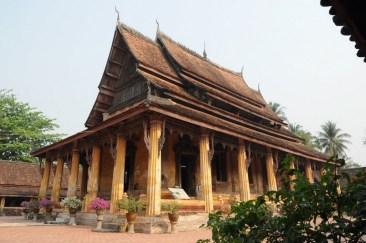 Wat Sisaket, 1818 - najstarszy zachowany wat w Vientiane.