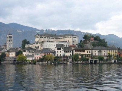 Isola Sant Gulio d'Orta.