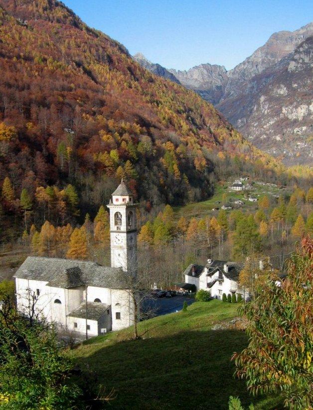 Frasco (Valle Efra, Szwajcaria).
