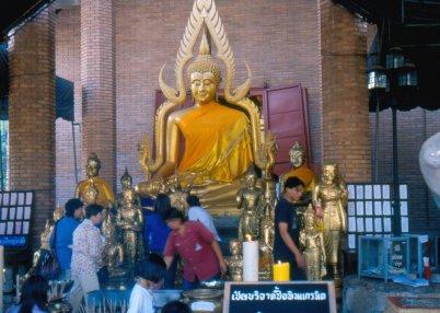 Buddymz therawada (najbliższy naukom Buddy) dotarł do Tajlandii ok. 3 w.p.n.e.
