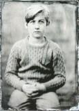 Mladý fotograf focený na kolodium / A young photographer on Tintype
