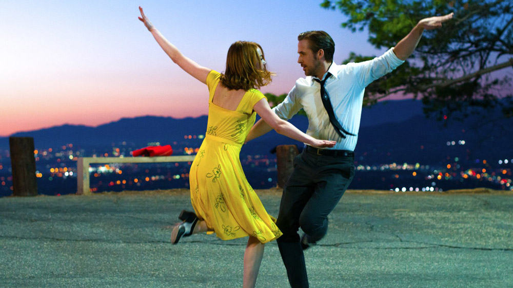 la la land golden globe