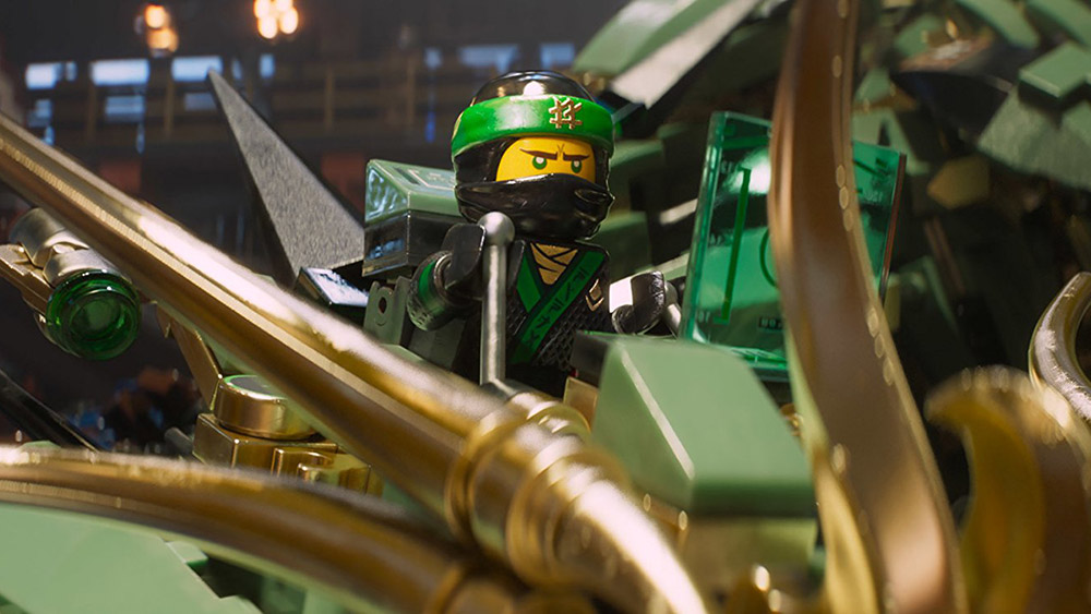 making of lego ninjago