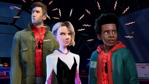 into the spiderverse sneak peek video