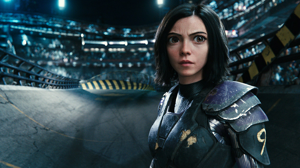 alita battle angel movie review